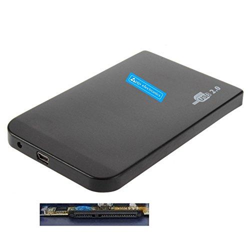 Screw Less 2.5″ sata hdd USB 2 2.5 sata hdd hard drive case Enclosure for pc laptop, 2.5″ HDD SATA Enclosure Caddy USB 2.0 For Laptop Hard Drive – XP, VISTA, WIN 7, MAC