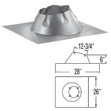 Amazon Com 8 Duraplus 0 12 6 12 Metal Roof Flashing