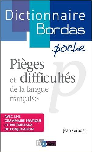 Livre gratuits Dictionnaire poche des pièges et difficultés de la langue française pdf, epub ebook