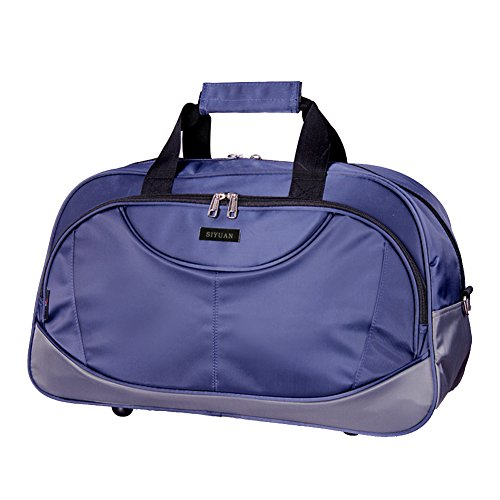 SIYUAN Athletic Gym Bag, Travel Duffel Bags Laptop Carry-on