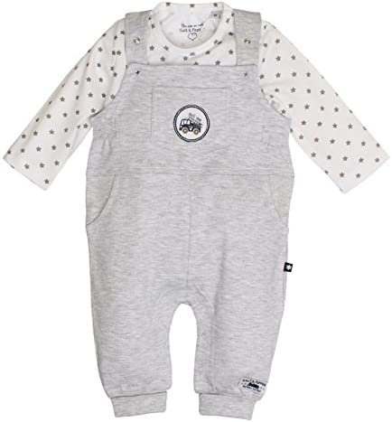 Salt /& Pepper NB Playsuit Fun Time Stripe Grenouill/ère B/éb/é gar/çon