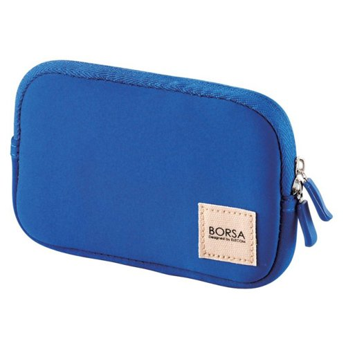 ELECOM Gadget Pouch Multi Pourch Case Soft Type Size S Blue BMA-GP04BU by Elecom