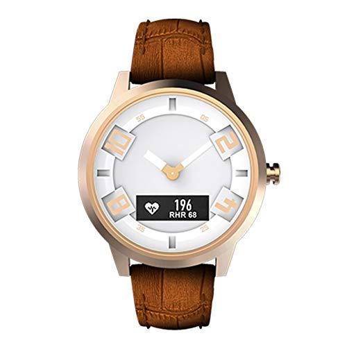 Reloj inteligente de Moda Lenovo Watch X Correa de Cuero Genuino ...