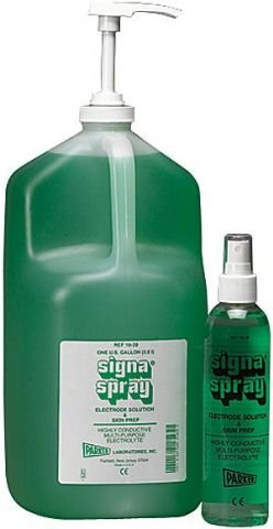 Signaspray Electrode Solution And Skin Prep - Parker Laboratories-1 Gallon w/Disp, Pump Not Include Signaspray Electrode