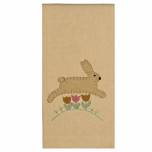 Home Collection by Raghu Hippity Hop Tan & Buttermilk Towel, 18