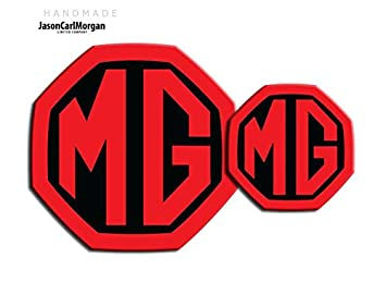 MG ZS LE500 Style Badge Inserts Front Rear Logo Badges 59mm Black Carbon