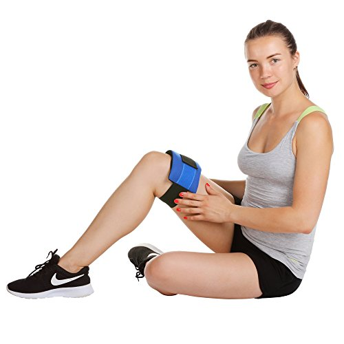 Reusable-Gel-Ice-Pack-with-Strap-for-Injuries-by-Kinetic-Labs-Hot-Cold-Pack-Wrap-for-Pain-Relief-Best-Ice-Wrap-for-Elbow-Ankle-Knee-Leg-Shoulder-Neck-Arm-Thigh-Feet-Headaches-Fever-Surgery