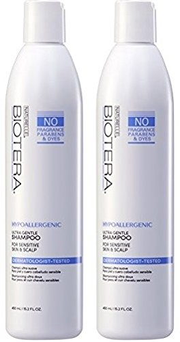 Naturelle Hypo-Allergenic Fragrance Free Shampoo 15 oz (2 PACK)