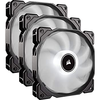 CORSAIR AF120 LED Low Noise Cooling Fan Triple Pack - White Cooling CO-9050082-WW