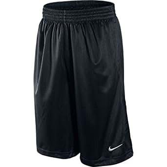 Nike Men's Layup Basketball Shorts Black/White Size Small