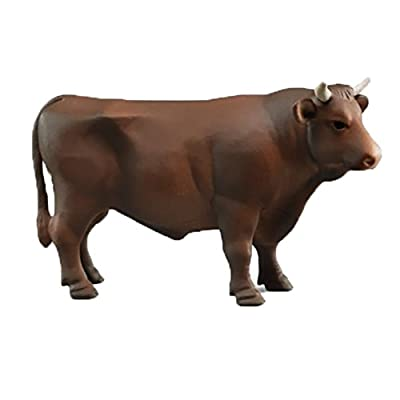 Bruder 02309 Bull (One Style) for Farm Pretend Play: Toys & Games