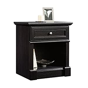 Sauder 420782 Bleeker Street Night Stand, Obsidian Oak