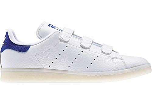 Adidas Tenis Stan Smith BZ0535 para Hombre, Color Blanco (23 Mex)