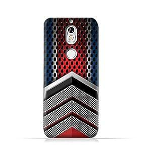 AMC Design Nokia 7 TPU Silicone Protective case with Geometric Mesh Pattern Design