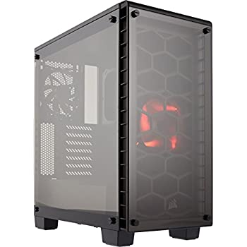 Corsair Crystal Series 460X - Tempered Glass, Compact ATX Mid-Tower Case CC-9011099-WW