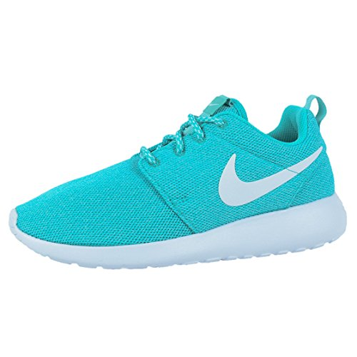 Nike Womens W Roshe One Clear Jade / White-turquoise Nylon