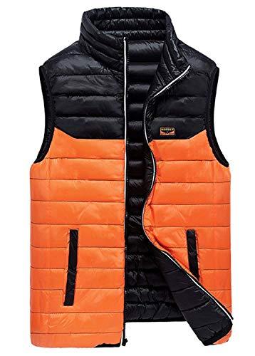 Beret Vest fashion Schwarz Quilted Wear Jacket Vest Down Ultra Men's Sided Coat Lightweight Boy Clásico Double Jacket Laisla OC7wAqA