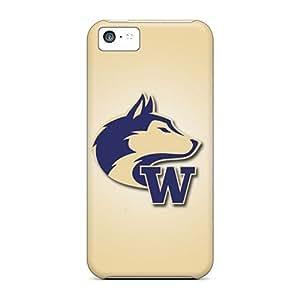 DaMMeke Perfect Tpu Case For Iphone 5c/ Anti-scratch Protector Case (washington Huskies)