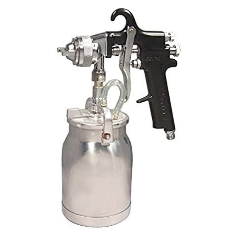 Astro AS7SP Spray Gun with Cup, Black Handle, 1.8mm Nozzle (Neumatic Paint Sprayer)