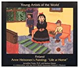"Finland: Anne Heinonen's Painting ""Life at Home"" (Young Artists of the World)"