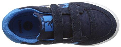 Hummel STADIL CANVAS JR LO - Zapatillas Unisex Niños Azul - azul (Dress Blue 7459)
