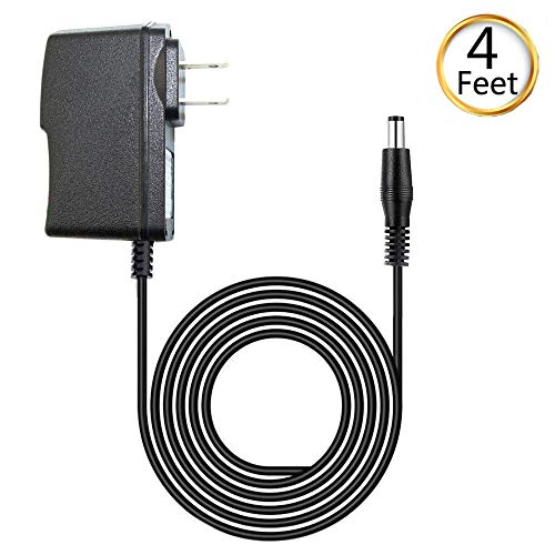 (fav-tech) 1A AC/DC Power Supply Adapter Wall Charger for Polaroid Kids Tablet 2 PTAB780 HD, LED Light