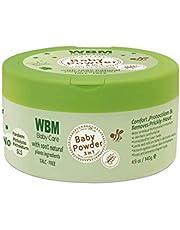 WBM Baby Care 8614A Baby Powder, 4.9 ounces
