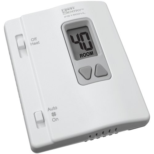ICM Controls FS1500VL Frost Sentry Garage Thermostat for Single-Stage Heating System