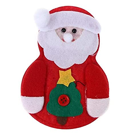 Bureze 1 Bolsa de Navidad con Forma de Alce para la Cena de ...