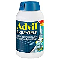 Advil Liqui-Gels Minis Pain Reliever and Fever Reducer, Ibuprofen 200mg, 200 Count...