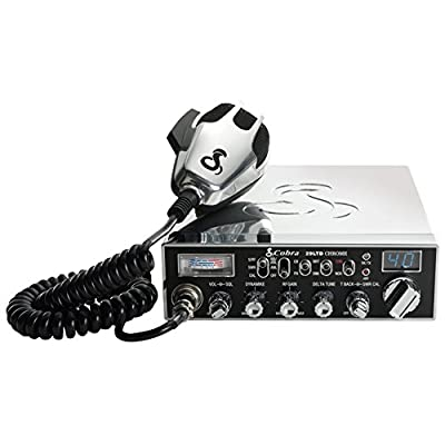 Cobra 29LTDCHR Professional CB Radio – Emergency Radio, Travel Essentials, Chrome, Talk Back, Instant Channel 9, 40 Channels, SWR Calibration: Car Electronics [5Bkhe0910442]