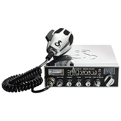 Cobra 29LTDCHR Professional CB Radio – Emergency Radio, Travel Essentials, Chrome, Talk Back, Instant Channel 9, 40 Channels, SWR Calibration: Car Electronics