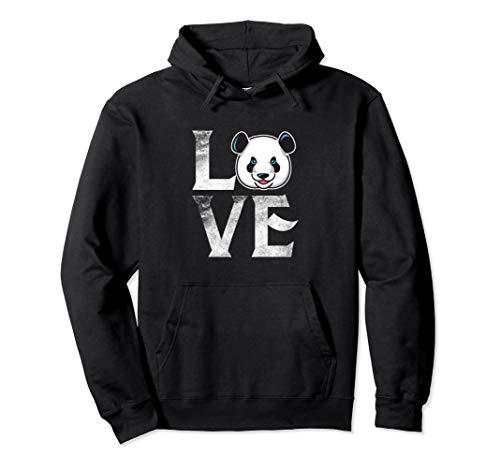 (Love Cute Panda Hoodie Costume Wildlife Spirit)
