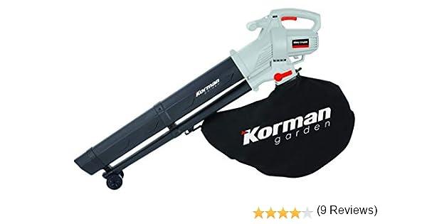 Korman garden - Aspirador triturador soplador eléctrico 3000W – 45L(Ref:600401): Amazon.es: Jardín