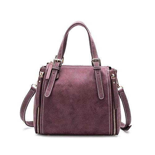 Scrub Women Bag Fashion Bucket Hundred A Single Messenger Leather Shoulder Hongge Cattle ZUBRq1txKw