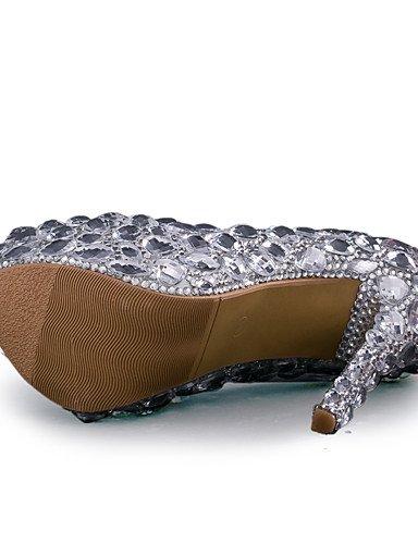Partido amp; La Textiles Home Aguja noche Los del 5in silver Las Zapatos vestido amp; Tal¨®n Boda De Zq Over Mujeres Plata Tac¨®n qP8nq6Bd