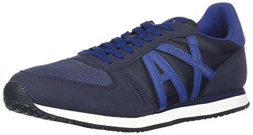 Men Retro Running Armani Navy X A Exchange qwaAAt