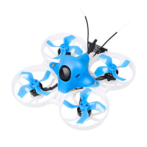 (BETAFPV Upgraded Beta75X FPV Frsky 3S Brushless Whoop Drone with F4 AIO 12A FC EOS2 Camera 4:3 OSD Smart Audio 8000KV 1103 Motor XT30 Cable for Tiny Whoop FPV Racing)