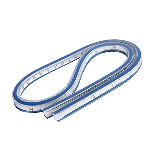 36 Inch (90cm) Flexible Curve Ruler For Garment Design