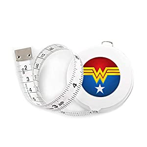Surmoler Tape Measure 1.5 Meter 60 Inch Push Button Retractable Measuring Tape Measuring Tape for Body Tailor Sewing Craft Cloth Dieting Measuring Tape – Wonder Woman 419D1gLviXL  2Pcs 300cm 120″ Soft Yellow Plastic Flexible Dieting Ruler Tailor Sewing Cloth Measure Tape 419D1gLviXL