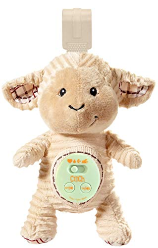 Cinch by dexbaby Plush Mini Lamb - Sleep Aid Womb Sound Soother w/Playard and Crib ()