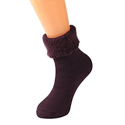 KitNSox Men Women Thick Warm Insulated Heated Boot Thermal Socks for Cold Weather