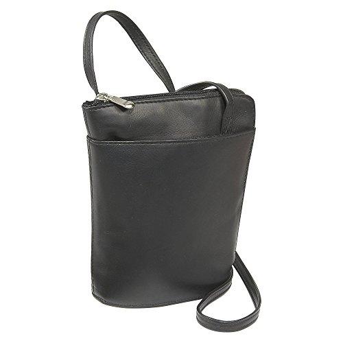 Mini Donne Leather L Zip Le Black IAqwOO7