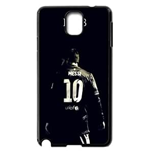 Football Lionel Andr¡§|s Mess Fashioni Black With Hard Shell Case for Samsung Galaxy Note 3
