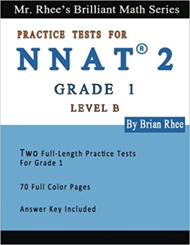 Two Full Length Full Color Practice Tests for the NNAT2---Grade 1 ...
