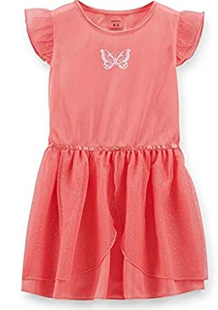 Carter's Little Girls' Princess Tulle Nightgown - Pink - 2/3