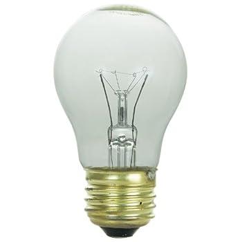 Sunlite 40A15/CL/CD1 120-volt 40-watt Medium Base Incandescents A15 Appliance Lamp