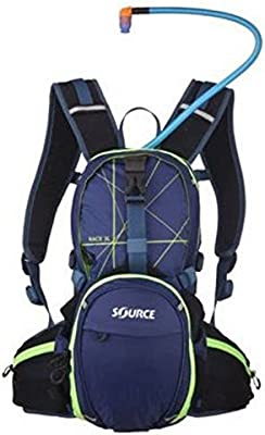 SOURCE RACE HYDRATION PACK 3L (DARK BLUE/GREEN): Amazon.es ...