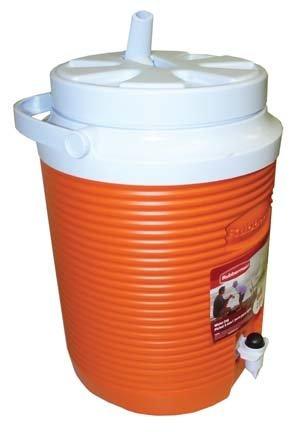 Thermal Victory Jug - Rubbermaid FG15300411 2 Gallon Orange Victory Thermal Jug Water Coolers