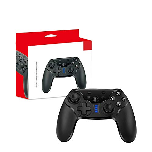 Wonderus Switching Wireless Gaming Controller for PC, Switching Wireless Gamepad with Screen Capture Vibration, Gaming Handheld Joystick, No Need of Any Driver, Gyroscope Accelerator, Bluetooth